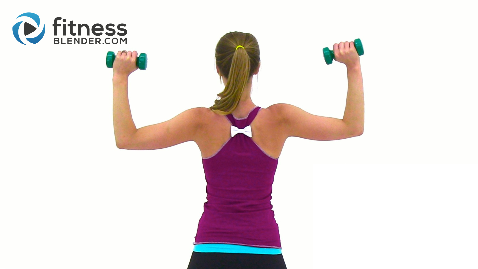 Tank Top Arms Workout - Arms, Chest, Back and Shoulders ...