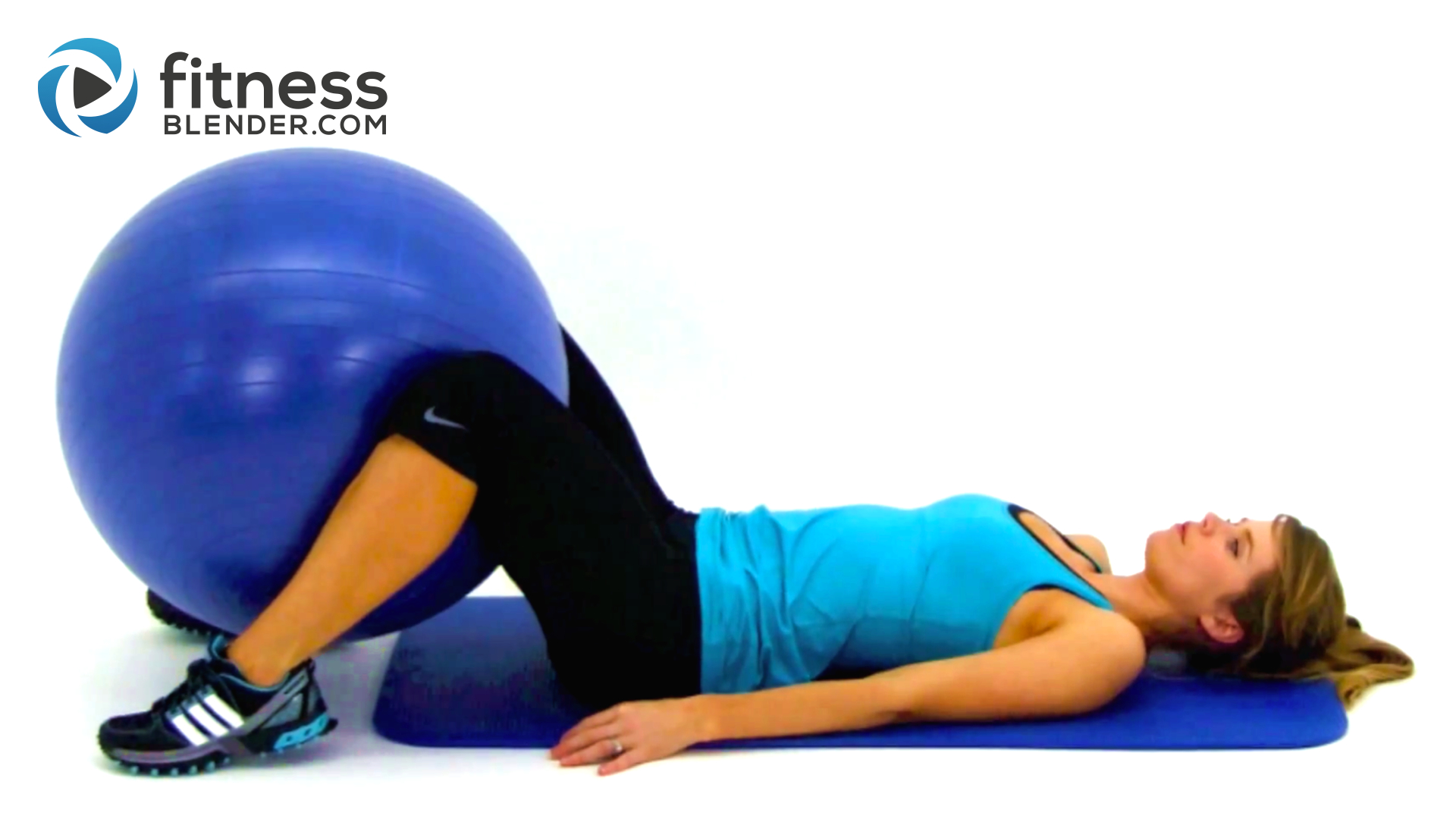 Total Body Exercise Ball Workout 10 Minute Physioball